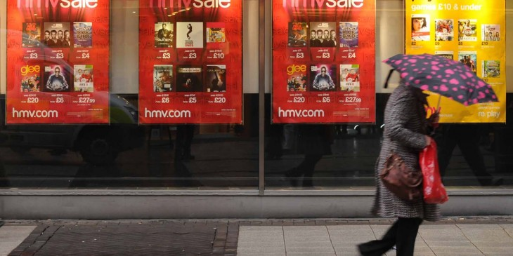 HMV Closures