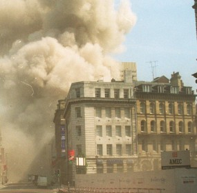 IRA bomb blast (Pic newsteam.co.uk)