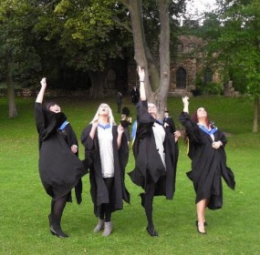 Graduation - it's not all doom and gloom for graduates