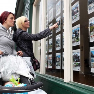 House Prices fall to record levels.