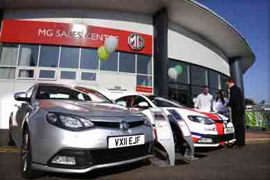 BRITAIN -MG Sales Centre