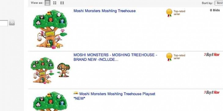 Moshi Monster Tree House