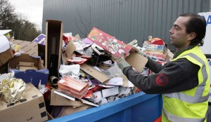 Altogether, more than three million tonnes of waste is created in the UK every Christmas