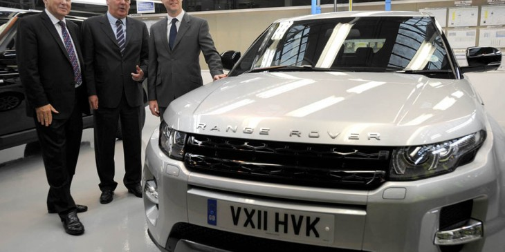 Land Rover successes bring workers in during their holiday period