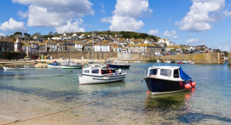 The fishing village of Mousehol, Cornwall