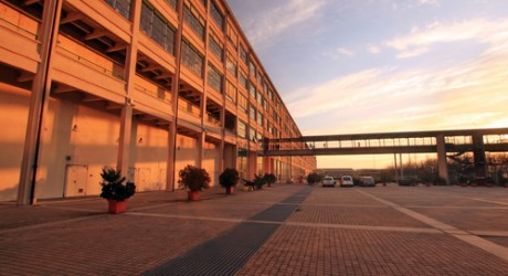 Fiat manufacturing plant in Turin, Italy