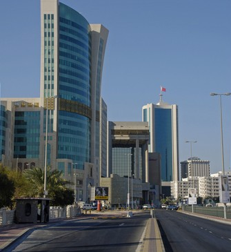 Bahrain's financial harbour