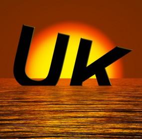 UK econonomy shinking