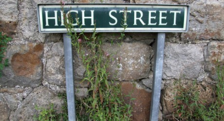 High street