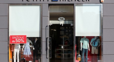 Tommy Hilfiger store in Belgrade, Serbia