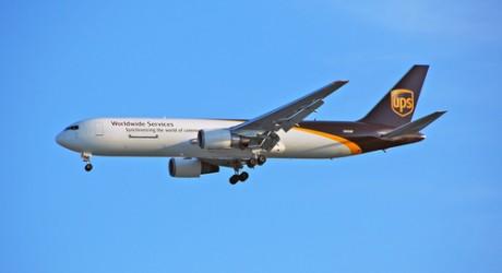 UPS cargo jet