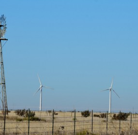 Wind turbines, Mexico