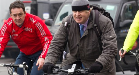 Boris Johnson Bike